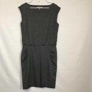 6e0bdc5ec74f1 Athleta Dresses - Athleta Micro Stripe Westwood Dress Ruched Bodycon